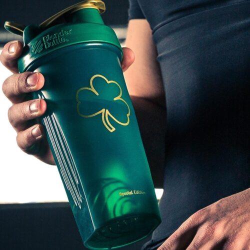 Шейкер спортивный BlenderBottle Classic Loop 28oz/820ml Special Edition Gold Green (ORIGINAL) фото 3