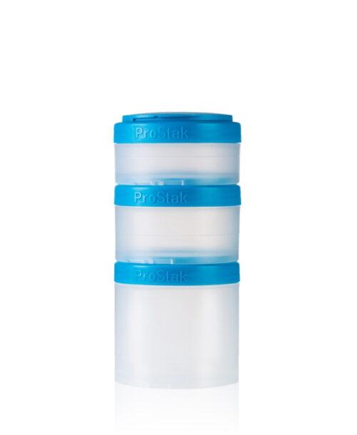 Контейнер спортивный BlenderBottle Expansion Pak Clear/Aqua (ORIGINAL) фото 1