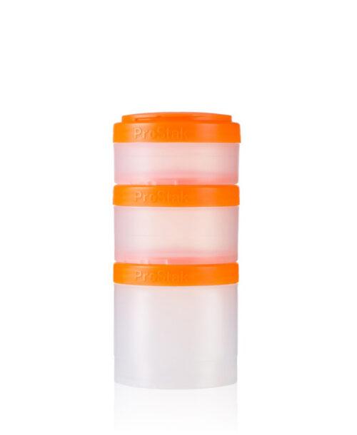 Контейнер спортивный BlenderBottle Expansion Pak Clear/Orange (ORIGINAL) фото 1
