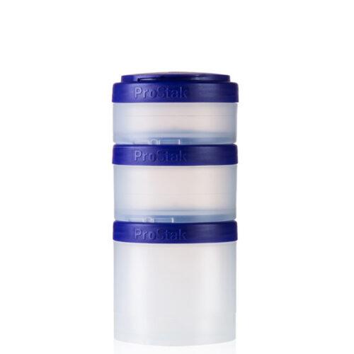 Контейнер спортивный BlenderBottle Expansion Pak Clear/Purple (ORIGINAL) фото 1