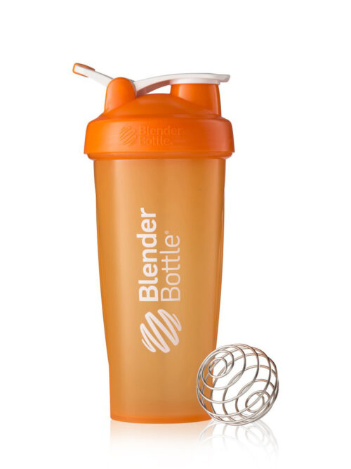 Шейкер спортивный BlenderBottle Classic 28oz/820ml Оранжевый (ORIGINAL) фото 1