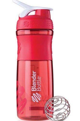 Спортивная бутылка-шейкер BlenderBottle SportMixer 28oz/820ml Red (ORIGINAL) фото 1