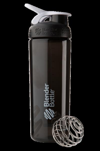 Спортивная бутылка-шейкер BlenderBottle SportMixer Sleek Promo 28oz/820ml Black (ORIGINAL) фото 1