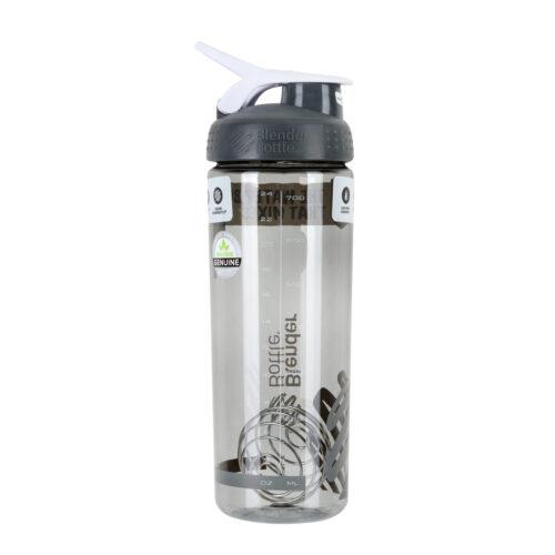 Спортивная бутылка-шейкер BlenderBottle SportMixer Sleek Promo 28oz/820ml Grey (ORIGINAL) фото 6