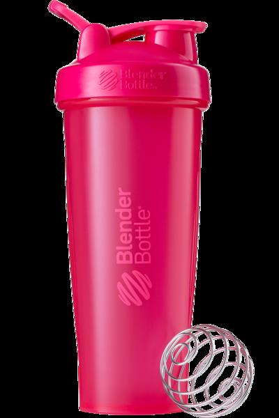 Шейкер спортивный BlenderBottle Classic Loop 32oz/940ml Pink FL (ORIGINAL) фото 1