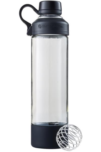 Спортивная бутылка-шейкер BlenderBottle Mantra Glass Black (СКЛО) 600мл (ORIGINAL) фото 1