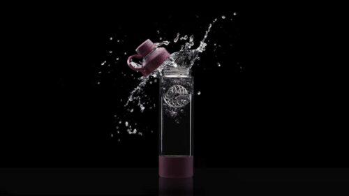 Спортивная бутылка-шейкер BlenderBottle Mantra Glass Plum (СКЛО) 600мл (ORIGINAL) фото 7