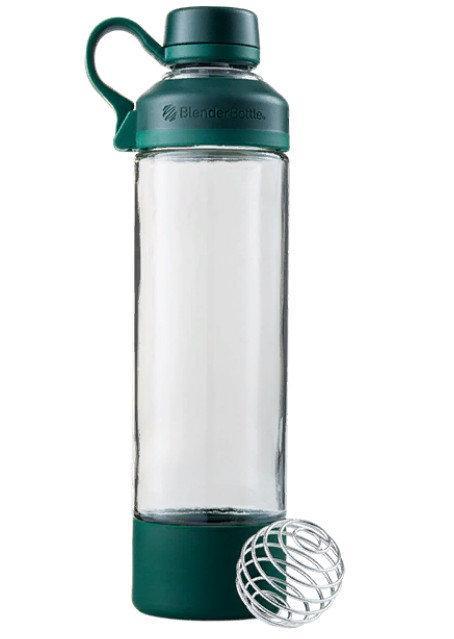 Спортивная бутылка-шейкер BlenderBottle Mantra Glass Green (СКЛО) 600мл (ORIGINAL) фото 1