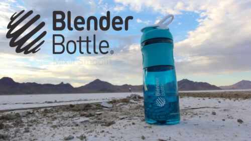 Спортивная бутылка-шейкер BlenderBottle SportMixer 28oz/820ml Аква (ORIGINAL) фото 2