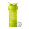 Шейкер спортивный BlenderBottle ProStak с шариком 650 мл зеленый фото 1