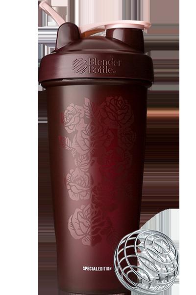 Шейкер спортивный BlenderBottle Classic Loop 28oz/820ml Spec Edition Amour Roses (ORIGINAL) фото 1