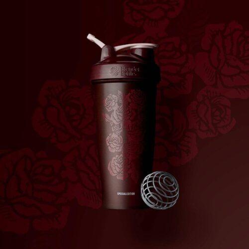 Шейкер спортивный BlenderBottle Classic Loop 28oz/820ml Spec Edition Amour Roses (ORIGINAL) фото 2