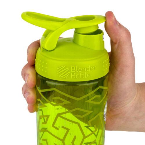 Спортивная бутылка-шейкер BlenderBottle SportMixer Signature Sleek 28oz/820ml Green Zen Gala (ORIGINAL) фото 2