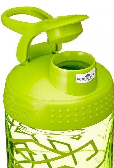 Спортивная бутылка-шейкер BlenderBottle SportMixer Signature Sleek 28oz/820ml Green Zen Gala (ORIGINAL) фото 3