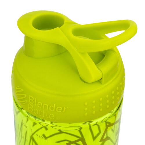 Спортивная бутылка-шейкер BlenderBottle SportMixer Signature Sleek 28oz/820ml Green Zen Gala (ORIGINAL) фото 4