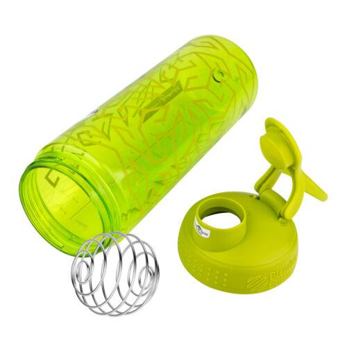 Спортивная бутылка-шейкер BlenderBottle SportMixer Signature Sleek 28oz/820ml Green Zen Gala (ORIGINAL) фото 5