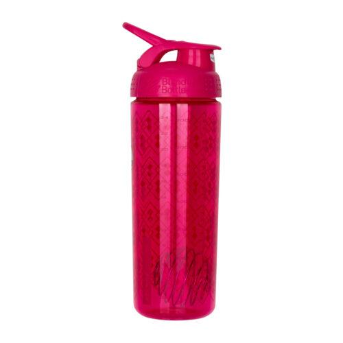 Спортивная бутылка-шейкер BlenderBottle SportMixer Signature Sleek 28oz/820ml Pink Geo Lace (ORIGINAL) фото 7
