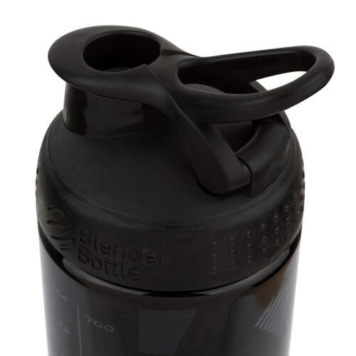 Спортивная бутылка-шейкер BlenderBottle SportMixer Signature Sleek 28oz/820ml Black Shattered Slate (ORIGINAL) фото 4
