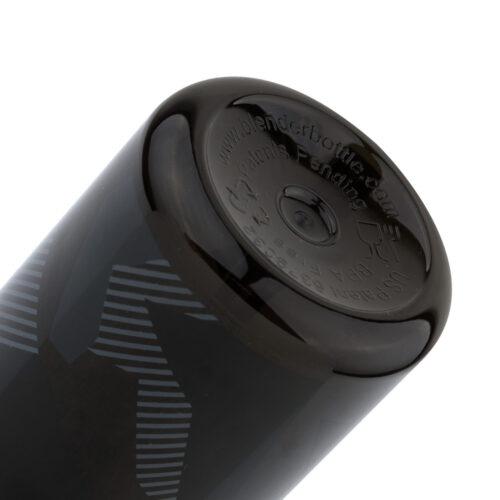 Спортивная бутылка-шейкер BlenderBottle SportMixer Signature Sleek 28oz/820ml Black Shattered Slate (ORIGINAL) фото 6