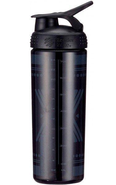 Спортивная бутылка-шейкер BlenderBottle SportMixer Signature Sleek 28oz/820ml Black Diamond Native (ORIGINAL) фото 3