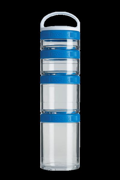 Контейнер спортивный BlenderBottle GoStak Starter 4 Pak Blue (ORIGINAL) фото 1