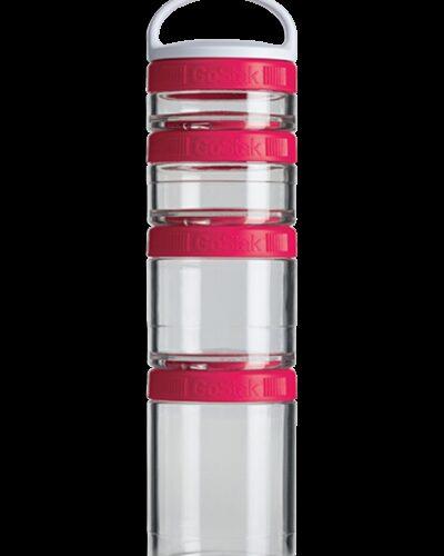 Контейнер спортивный BlenderBottle GoStak Starter 4 Pak Pink (ORIGINAL) фото 1