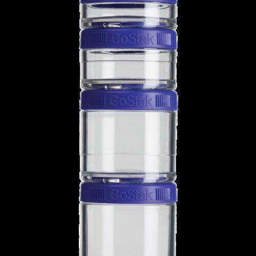 Контейнер спортивный BlenderBottle GoStak Starter 4 Pak Purple (ORIGINAL) фото 1