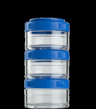 Контейнер спортивный BlenderBottle GoStak 3*60 Blue (ORIGINAL) фото 1