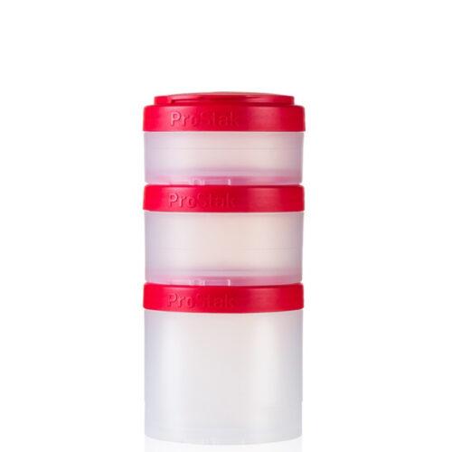 Контейнер спортивный BlenderBottle Expansion Pak Clear/Red (ORIGINAL) фото 1