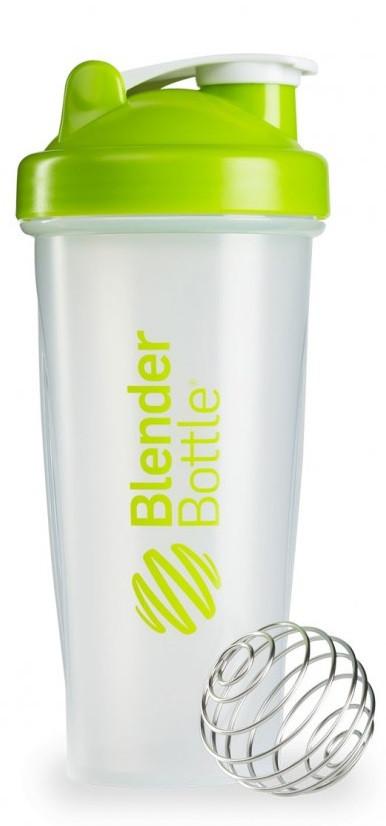 Шейкер спортивный BlenderBottle Classic 28oz/820ml прозрачный/зеленый (ORIGINAL) фото 1