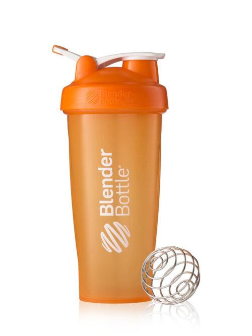 Шейкер спортивный BlenderBottle Classic Loop 28oz/820ml оранжевый (ORIGINAL) фото 1