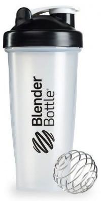 Шейкер спортивный BlenderBottle Classic 28oz/820ml прозрачный/черный (ORIGINAL) фото 1