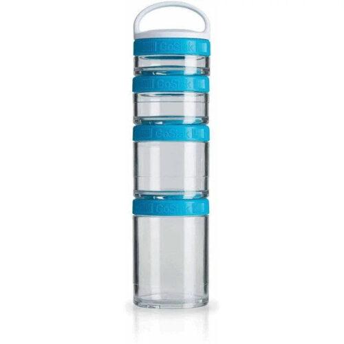 Контейнер спортивный BlenderBottle GoStak Starter 4 Pak Aqua (ORIGINAL) фото 1