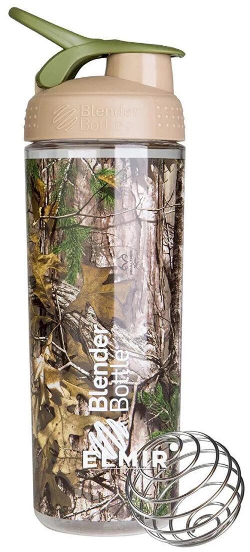 Спортивная бутылка-шейкер BlenderBottle SportMixer Sleek 28oz/820ml Real Tree фото 1