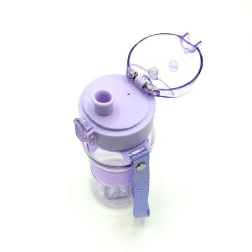 Пляшка для води CASNO 400 мл KXN-1104 Tritan Фіолетова фото 6