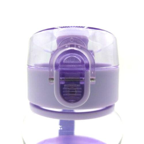 Пляшка для води CASNO 400 мл KXN-1104 Tritan Фіолетова фото 4