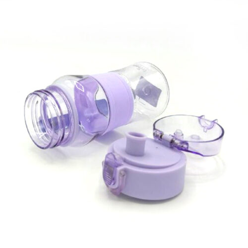 Пляшка для води CASNO 400 мл KXN-1104 Tritan Фіолетова фото 5