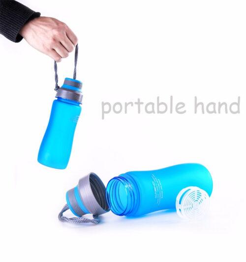 Пляшка для води CASNO 600 мл KXN-1116 Синя фото 6