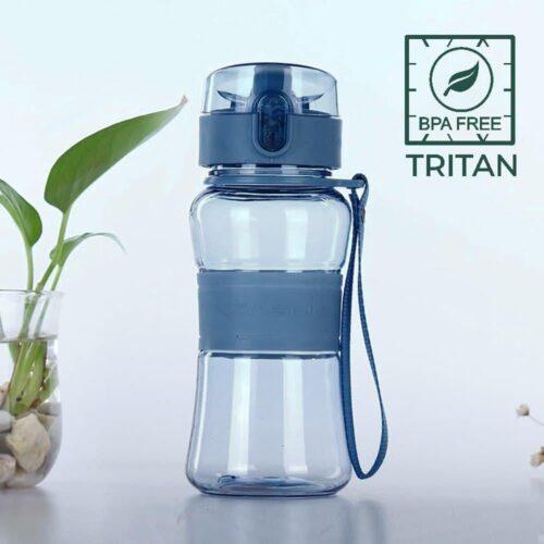 Пляшка для води CASNO 400 мл KXN-1104 Tritan Синя фото 1