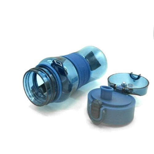 Пляшка для води CASNO 400 мл KXN-1104 Tritan Синя фото 6