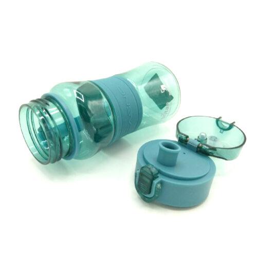 Пляшка для води CASNO 400 мл KXN-1104 Tritan Зелена фото 5