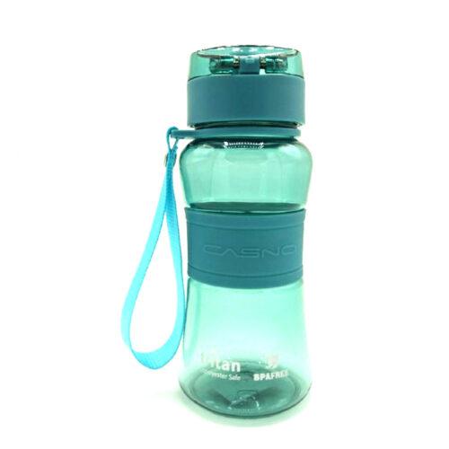 Пляшка для води CASNO 400 мл KXN-1104 Tritan Зелена фото 4