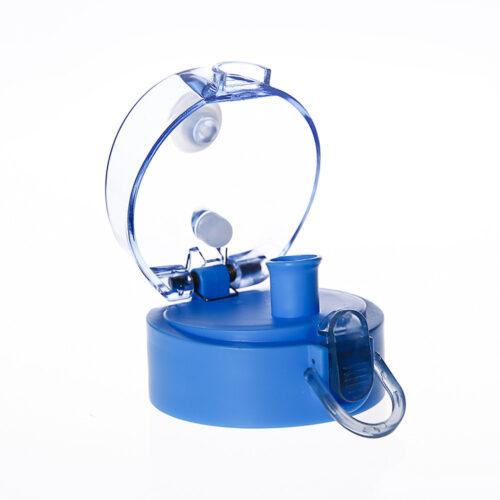 Пляшка для води CASNO 850 мл KXN-1183 Синя + металевий вінчик фото 3