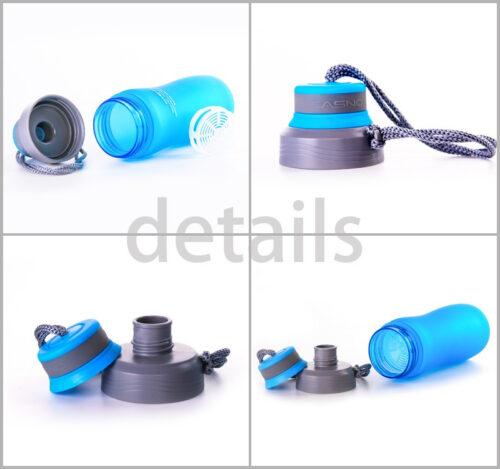 Пляшка для води CASNO 600 мл KXN-1116 Синя фото 7