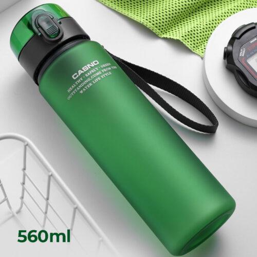 Пляшка для води CASNO 560 мл KXN-1115 Зелена фото 1