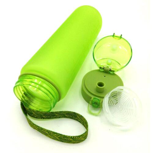 Пляшка для води CASNO 1000 мл MX-5041 More Love Зелена фото 5