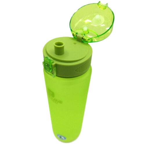 Пляшка для води CASNO 1000 мл MX-5041 More Love Зелена фото 6