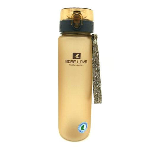 Пляшка для води CASNO 1000 мл MX-5041 More Love Коричнева фото 5