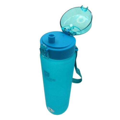 Пляшка для води CASNO 1000 мл MX-5041 More Love Блакитна фото 6