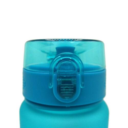 Пляшка для води CASNO 1000 мл MX-5041 More Love Блакитна фото 7